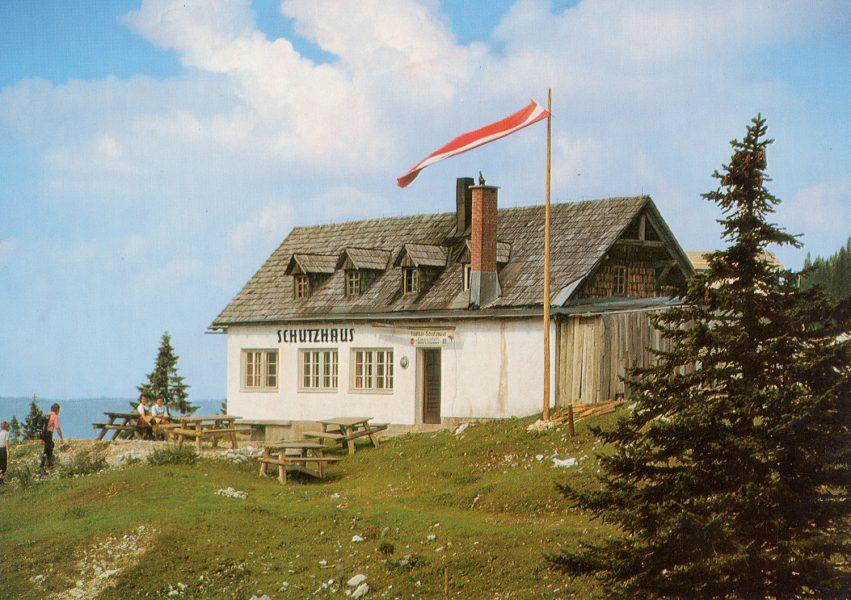 Schutzhaus Hochkar - anno dazumal