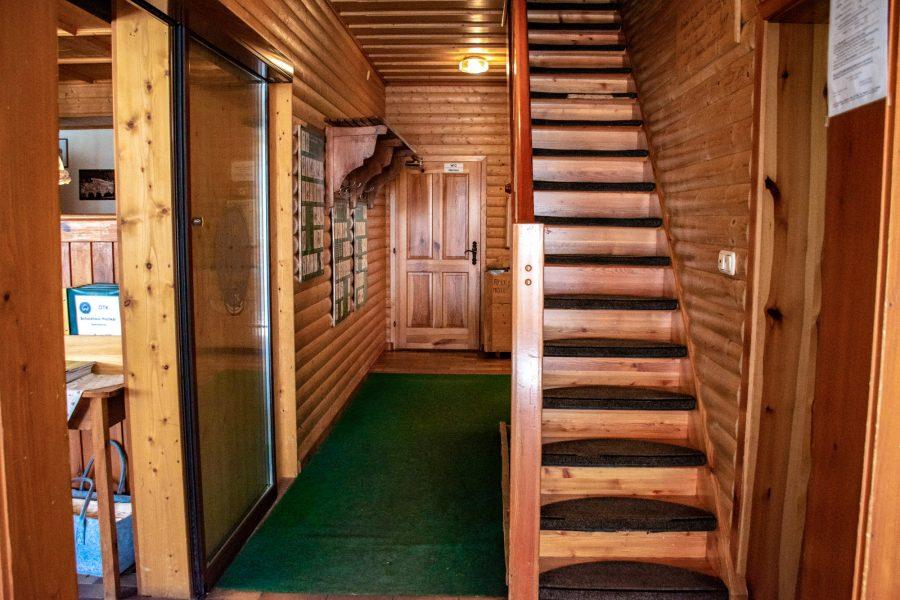 Schutzhaus Hochkar - Eingang