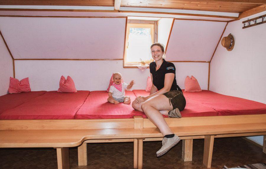 Schutzhaus Hochkar - Matratzenlager für 8 Personen